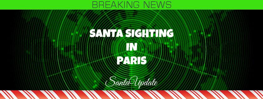 Santa Arrives in France 1
