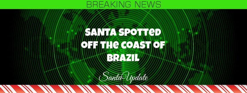 South America Spots Santa 1