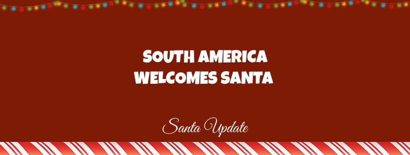 Santa is in Brazil 1