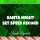 Santa Zips Down South Again 3