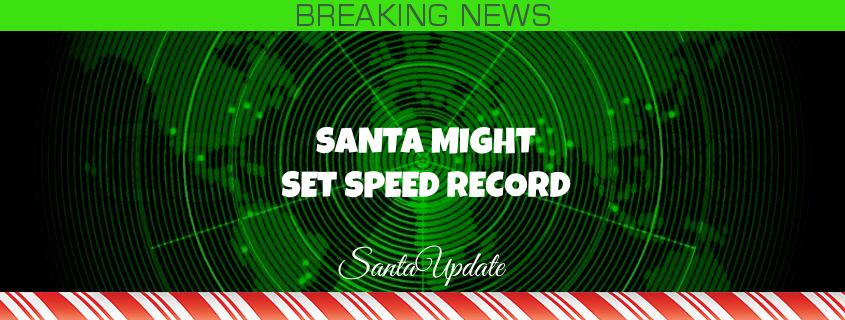 Santa Zips Down South Again 1