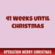 41 Weeks Until Christmas 2