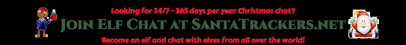 Elf Chat at SantaTrackers.net