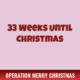 33 Weeks Until Christmas 3