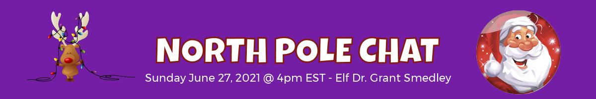 North Pole Chat Calendar 1