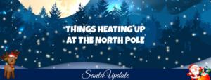 Activity Picks Up at the North Pole