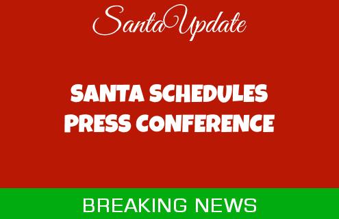 Santa Schedules a Press Conference 5