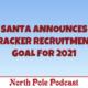 Santa Announces the Tracker Recruitment Goal for 2021 2