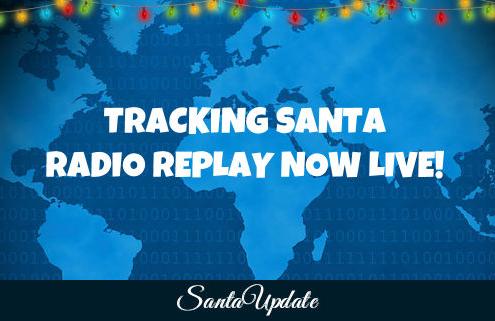 Tracking Santa Radio Replay 4