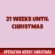 21 Weeks Until Christmas