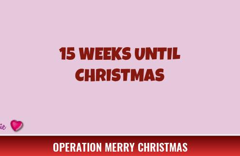 15 Weeks Until Christmas 4