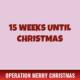 15 Weeks Until Christmas 2