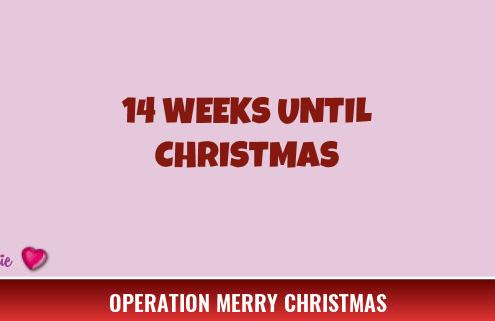 14 Weeks Until Christmas
